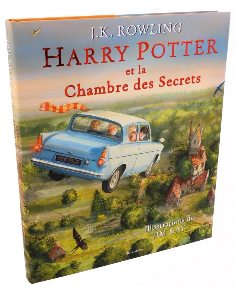 Harry Potter Et La Chambre Des Secrets Edition Illustree