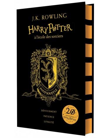 Edition 20 ans de Poufsouffle - H.P. à l'école des Sorciers.