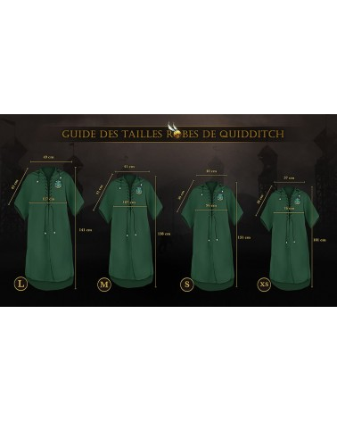 Robe de Quidditch - Serpentard