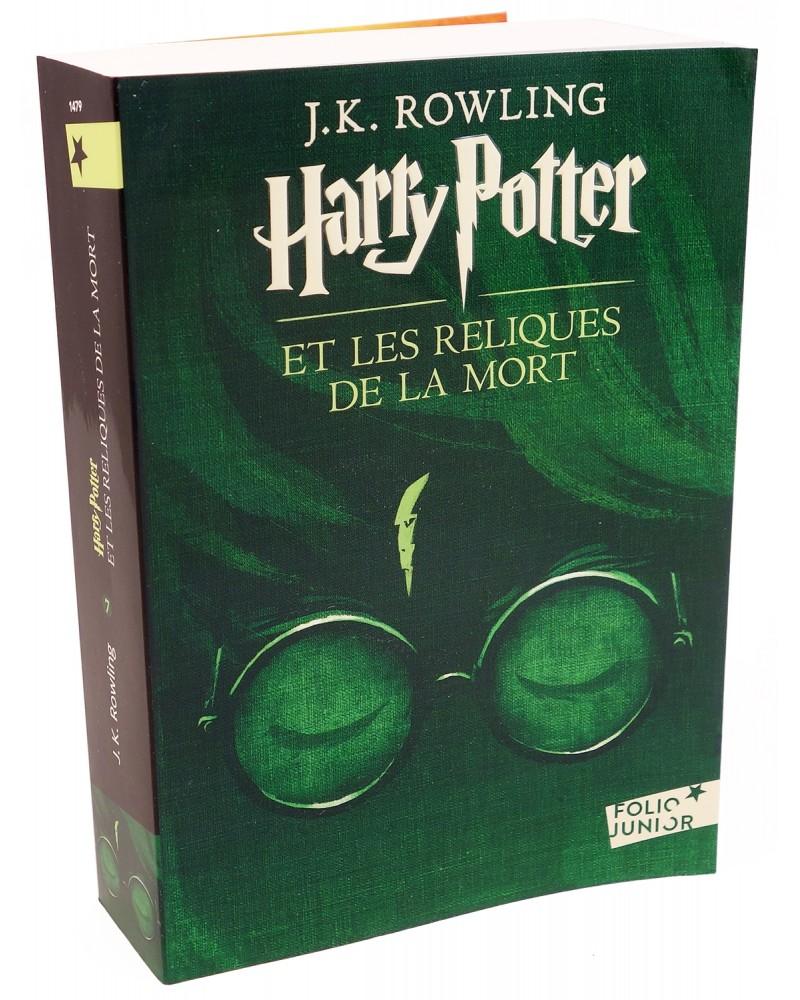 Livre Harry Potter Et Les Reliques De La Mort Folio